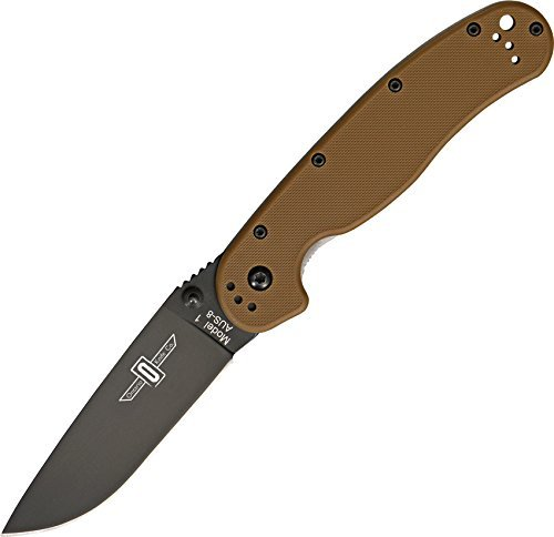 Ontario Knife RAT-1 Knife, 5in. Closed