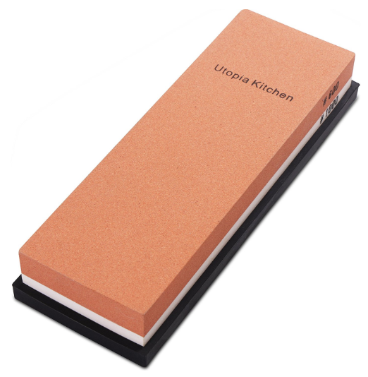 best sharpening stone product image: Double-Sided_Knife_Sharpening_Stone_Multi-Colored