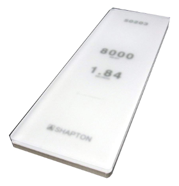 best sharpening stone product image: Shapton_Glass_Stone 8000