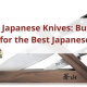 best japanese knives - Set of japanese knives