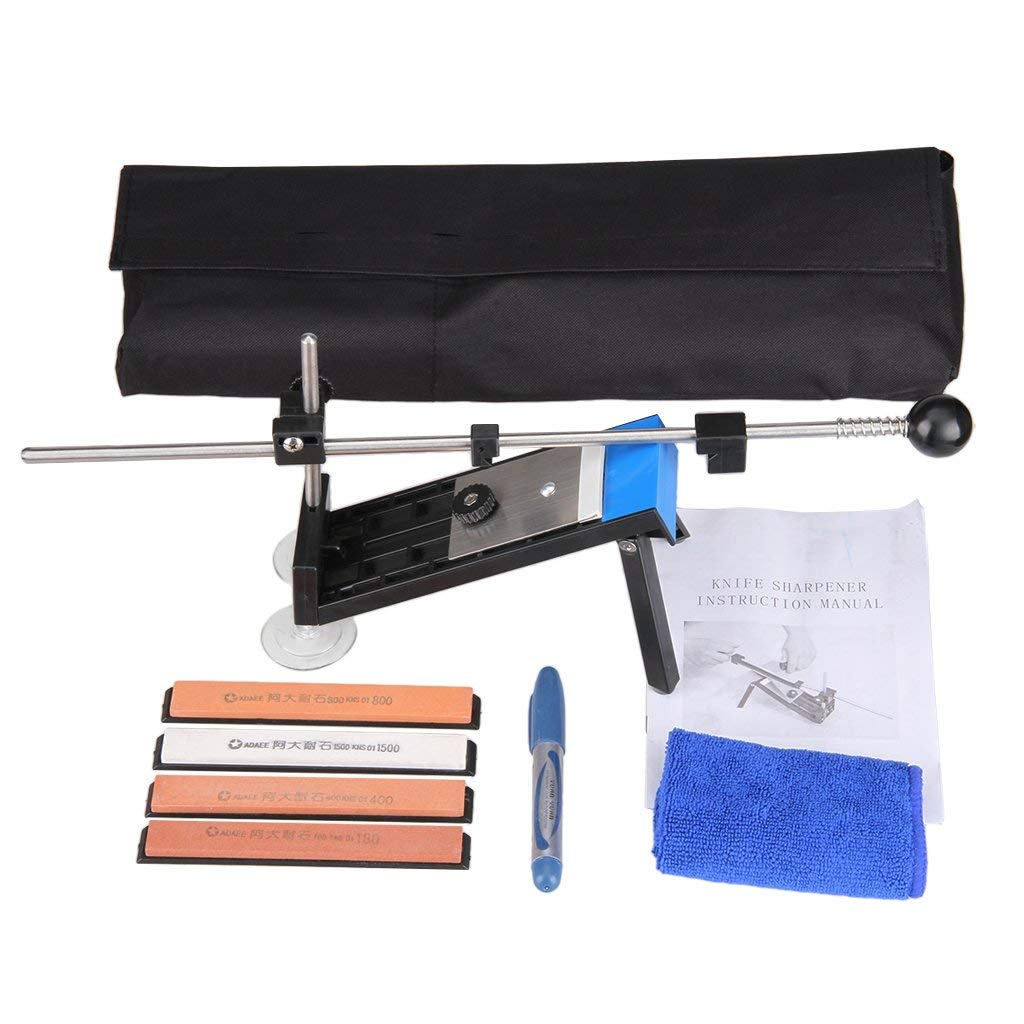 best sharpening stone that fits for most of the knives in commercial and home kitchen use and suprise your well with a great result on blade sharpening, just keep your life more easier.