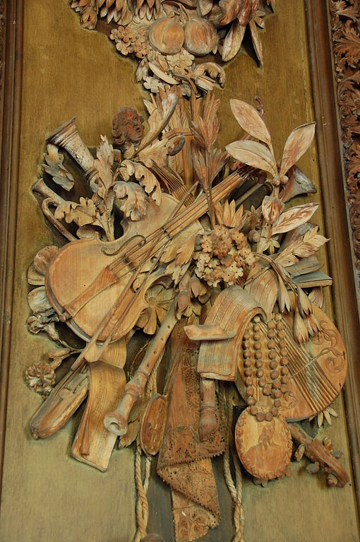 from the carved room at petwood house music by grinling gobbons