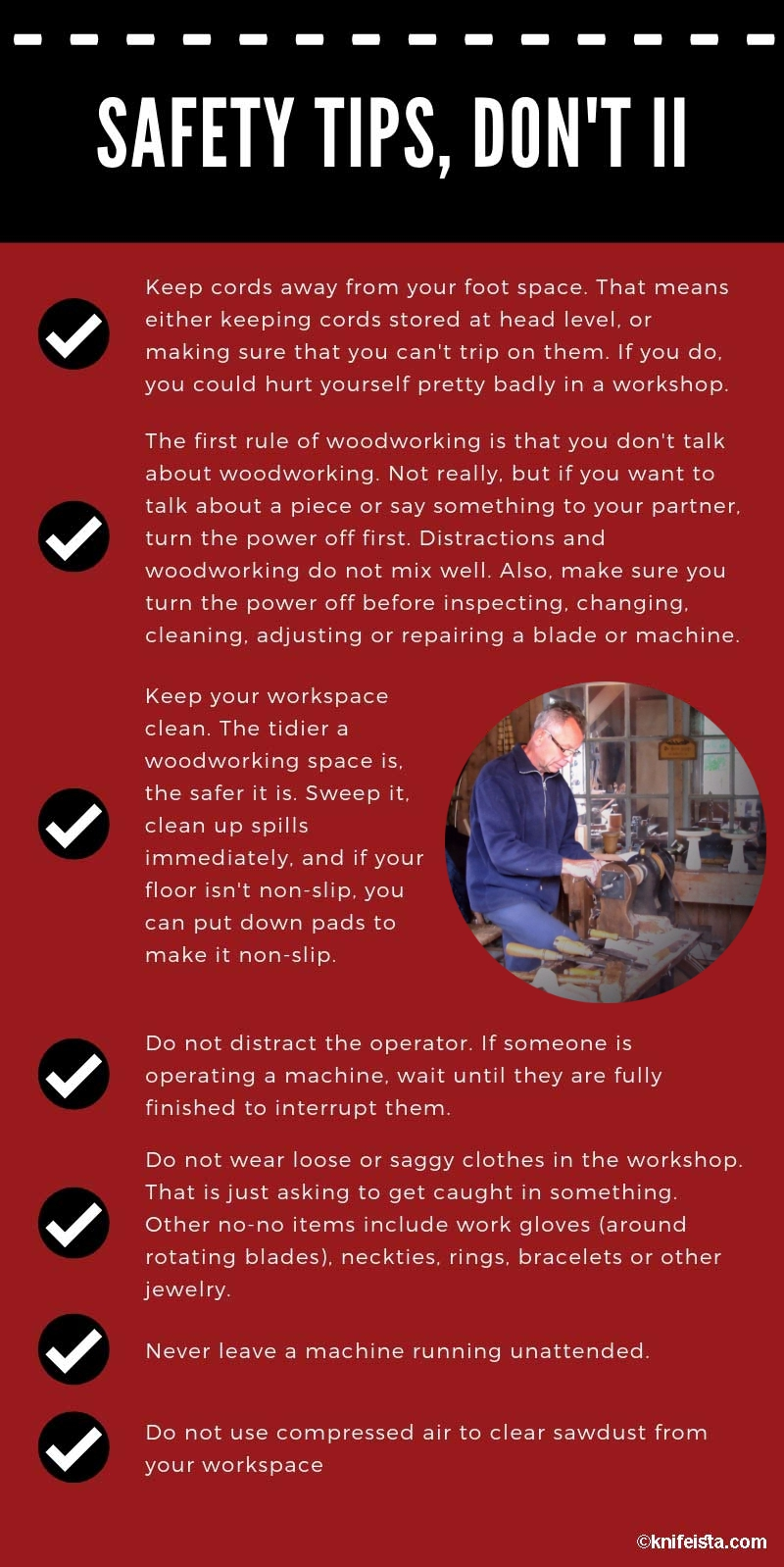 saftey tips infographic