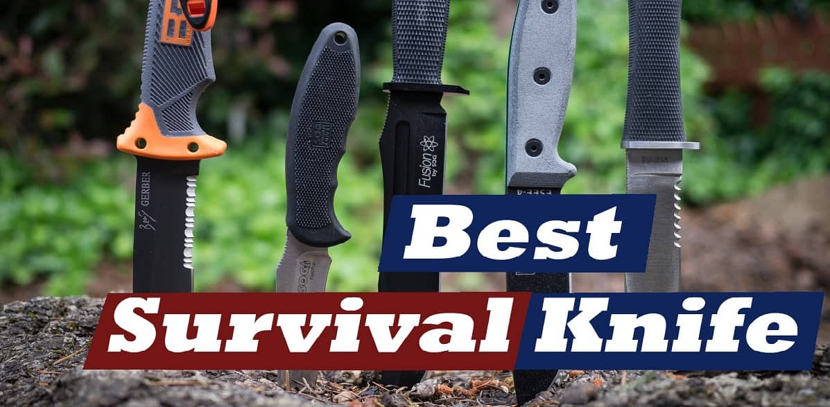 fixed blade survival knives